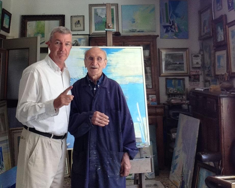 Giorgio e Matteo Piccaia in studio
