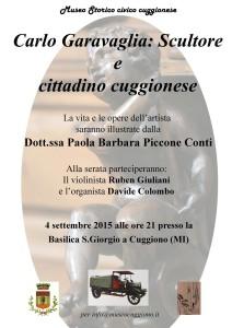 32° Sagra del Baragioeu - appuntamento in Basilica alla scoperta dello scultore Carlo Garavaglia