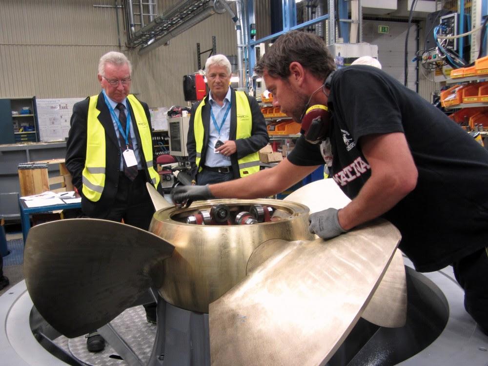 turbine svedese da montare al Panperduto - sett 2015