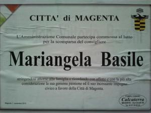 Mariangela Basile_annuncio Amministrazione Magenta