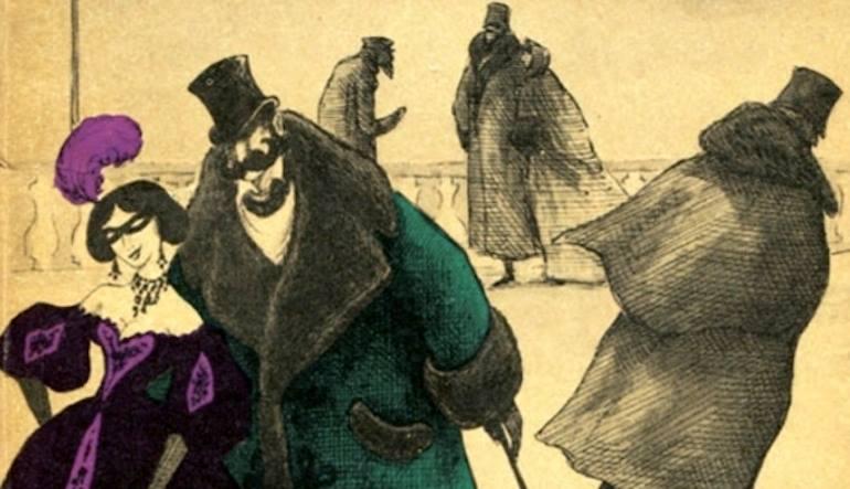 Il Cappotto_Gogol_Schedia Teatro_disegno