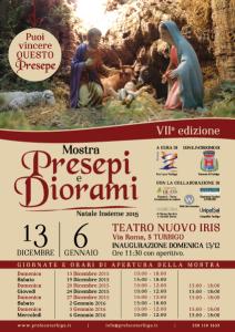Mostra Presepi e Diorami 2015 Turbigo