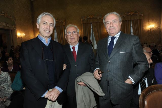 con Michele Saponara ed Alberto di Luca