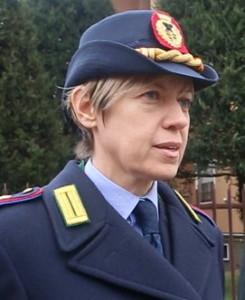 Il comandante Monica Porta