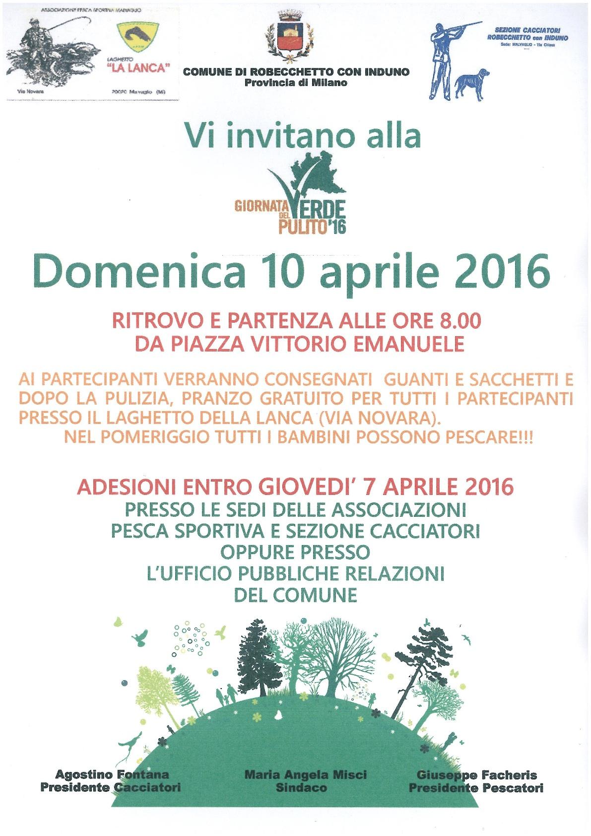 Domenica giornata del verde pulito corriere alto milanese for Pulizia laghetto