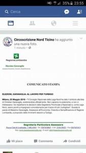 il comunicato stampa di Massimo Garavaglia