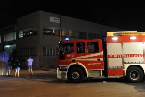 Ossona - Incendio