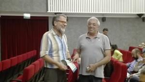 Alberto Baroni con Marco Invernizzi