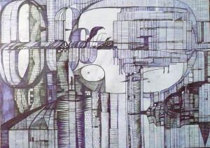 rossella-terragnoli-impro-2014-bic-su-tela-50x70-cm