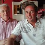 padre e figlio - Emilio e Carlo Bolciaghi - © AB PRESS 2000