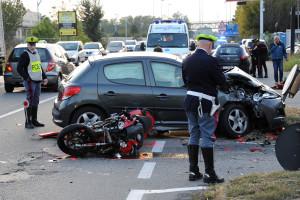 Vittuone - Incidente
