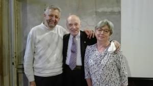 Oreste Magni, prof Riccardo marsan, Donatella Tronelli