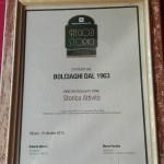 """Targa regione Lombardia, """"storica attività"""""""