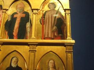 Andrea Mantegna Polittico di San Luca