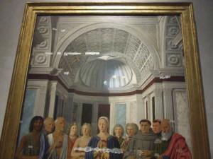 Piero della Francesca, La Pala di Brera, o Pala Montefeltro
