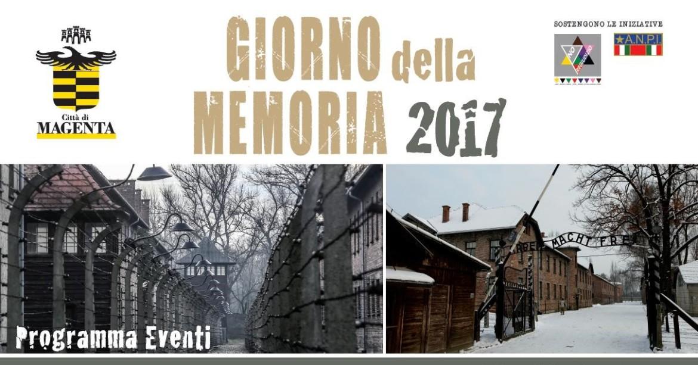 Giorno della Memoria 2017 -manifesto