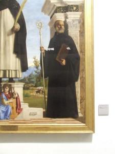 Cima da Conegliano, soprannome di Giovanni Battista Cima, San Pietro martire con i Santi Nicola e Benedetto