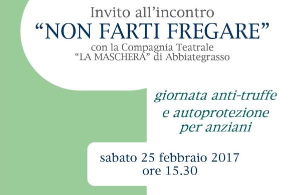 Evento Non farti fregare 25 febbraio