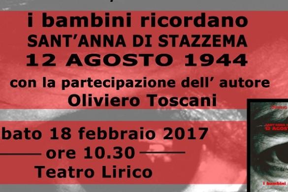 Evento con Oliviero Toscani-18 febbraio 2017