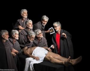 Lezione di anatomia del dottor Tulp. Reinterpretazione di Daniele D'Antonio (da Rembrandt)