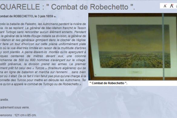 combat de Robechetto