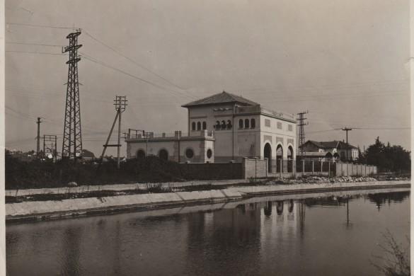 Canale Industriale e stazione