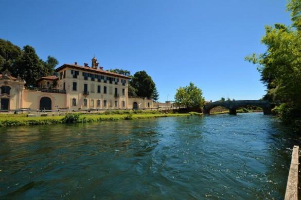 Cassinetta di Lugagnano_Naviglio Grande e Villa Visconti Maineri