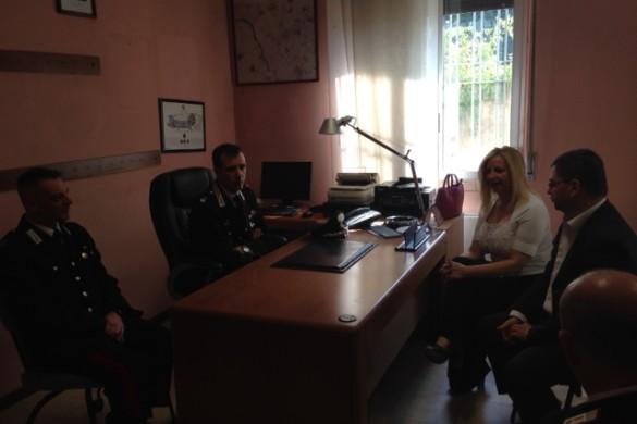 Visita Caserma Carabinieri 2
