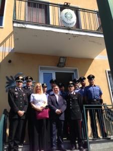 Visita caserma Carabinieri 1