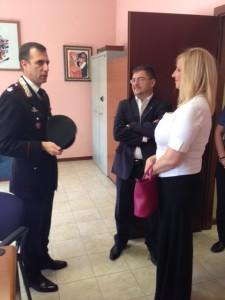 Visita caserma Carabinieri 3