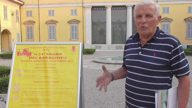 Enrico Rainoldi, 34 Sagra del Baragioeu