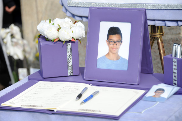 Robecco - Funerale Mirko