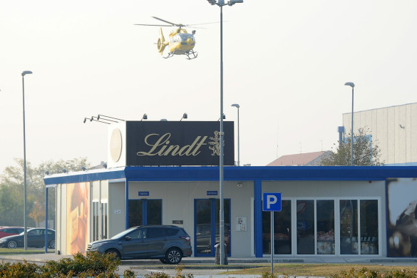 Magenta - Infortunio sul lavoro alla Lindt