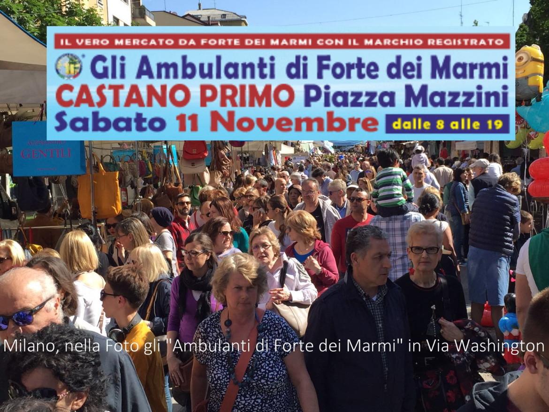 Milano Via Washington in Festa