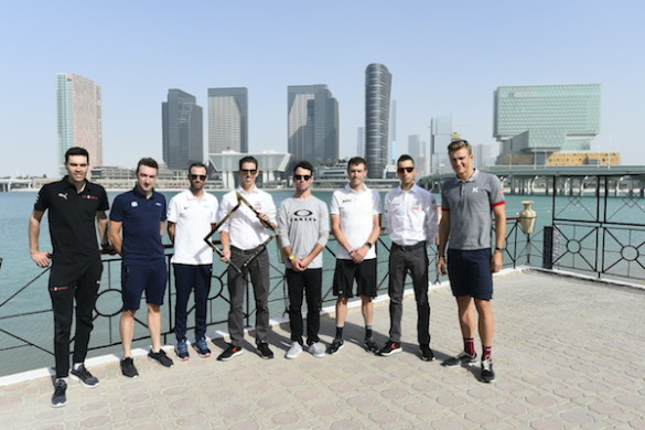 Abu Dhabi Tour 2018 - 4a edizione - Foto di gruppo top riders