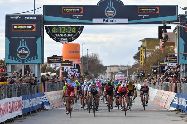 Tirreno-Adriatico 2018 - edizione 53 -Tappa 2 Camaiore-Follonica