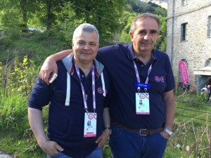Stefano Argenton e Massimo Branca