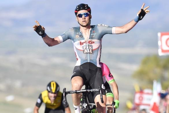 Giro d'Italia 2018 - edizione 101-  tappa 4 CATANIA - CALTAGIRONE