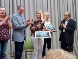 premiazione poetessa Stefania Maffei e artista Marina Romiti