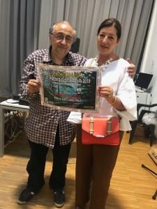 premiazione  scrittrice Teresa D'Amico