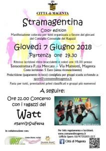 Stramagentina color edition