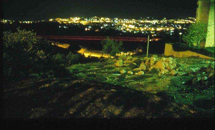 bombardamento Betlemme