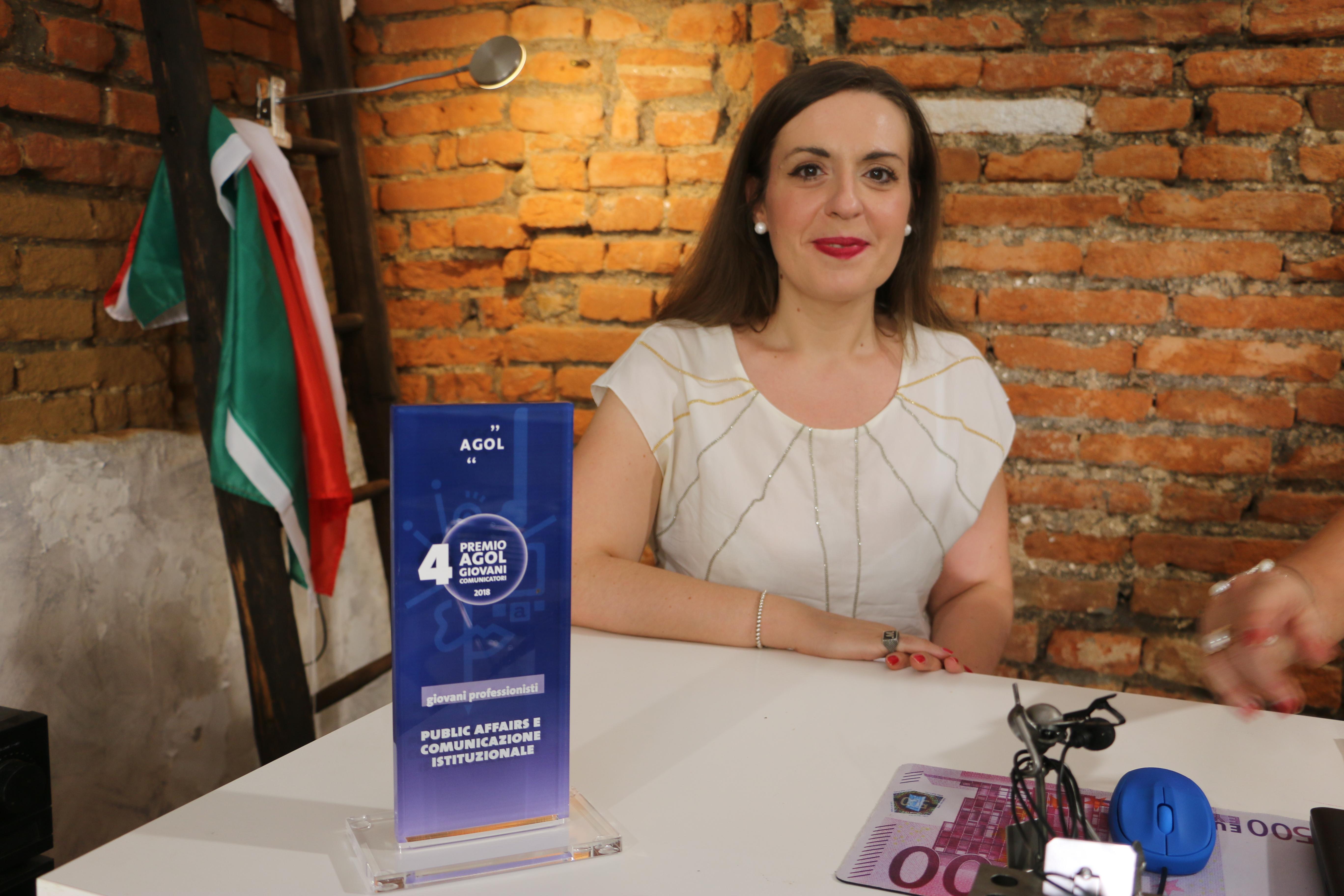 Magenta : Maria Rosa Cuciniello vince il Premio AGOL