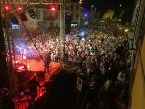 piazza Mazzini Castano Primo concerto Matia Bazar