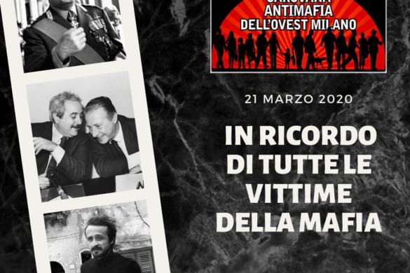 Carovana Antimafia 21 marzo 2020